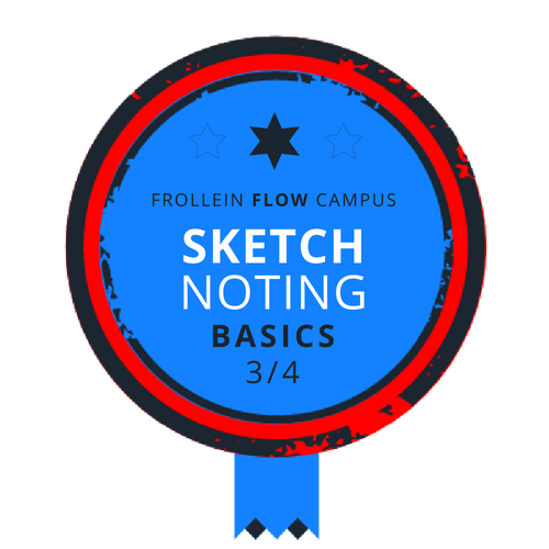 Sketchnoting Basics Badge 3/4