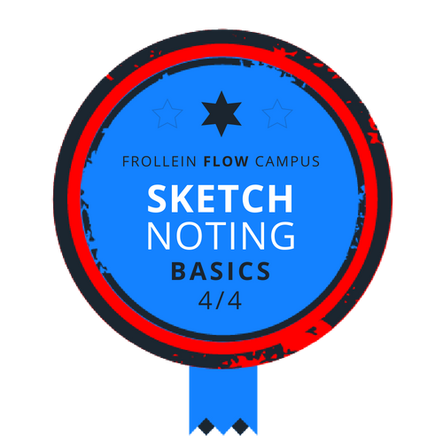 Sketchnoting Basics Badge 4/4