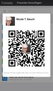 WeChat QR-Code Nicole Bauch