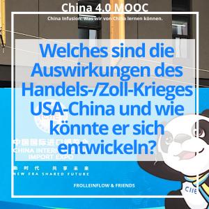 11. Welches sind die Auswirkungen des Handels-/Zoll-Krieges USA-China und wie könnte er sich entwickeln?